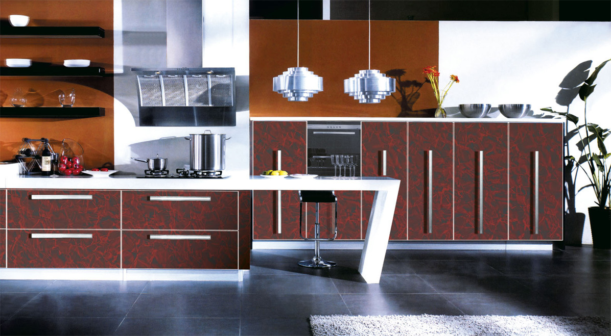 china modern furniture kitchen cabinets for sale