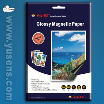 Magnetic Inkjet Photo Paper in Glossy Surface