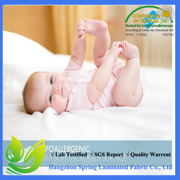 China Manufacturer Quilted Crib Mattress Protector