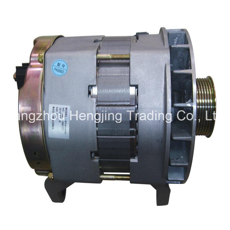 96765451 24V 180A Bus Alternator for Doosan Auto Car Spare Parts