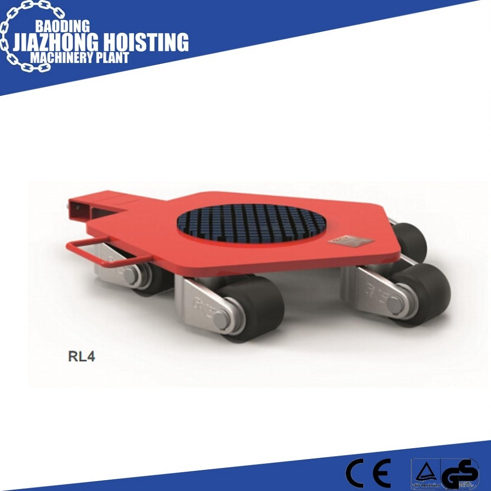 Heavy Duty Warehouse Moving Tools 15 Ton Moving Trolley Roller Skids
