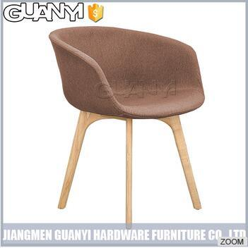 Simple Modern High Heel Wood Outdoor Furniture