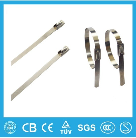UL Listed Stainless Steel Cable Tie Ball Lock Type