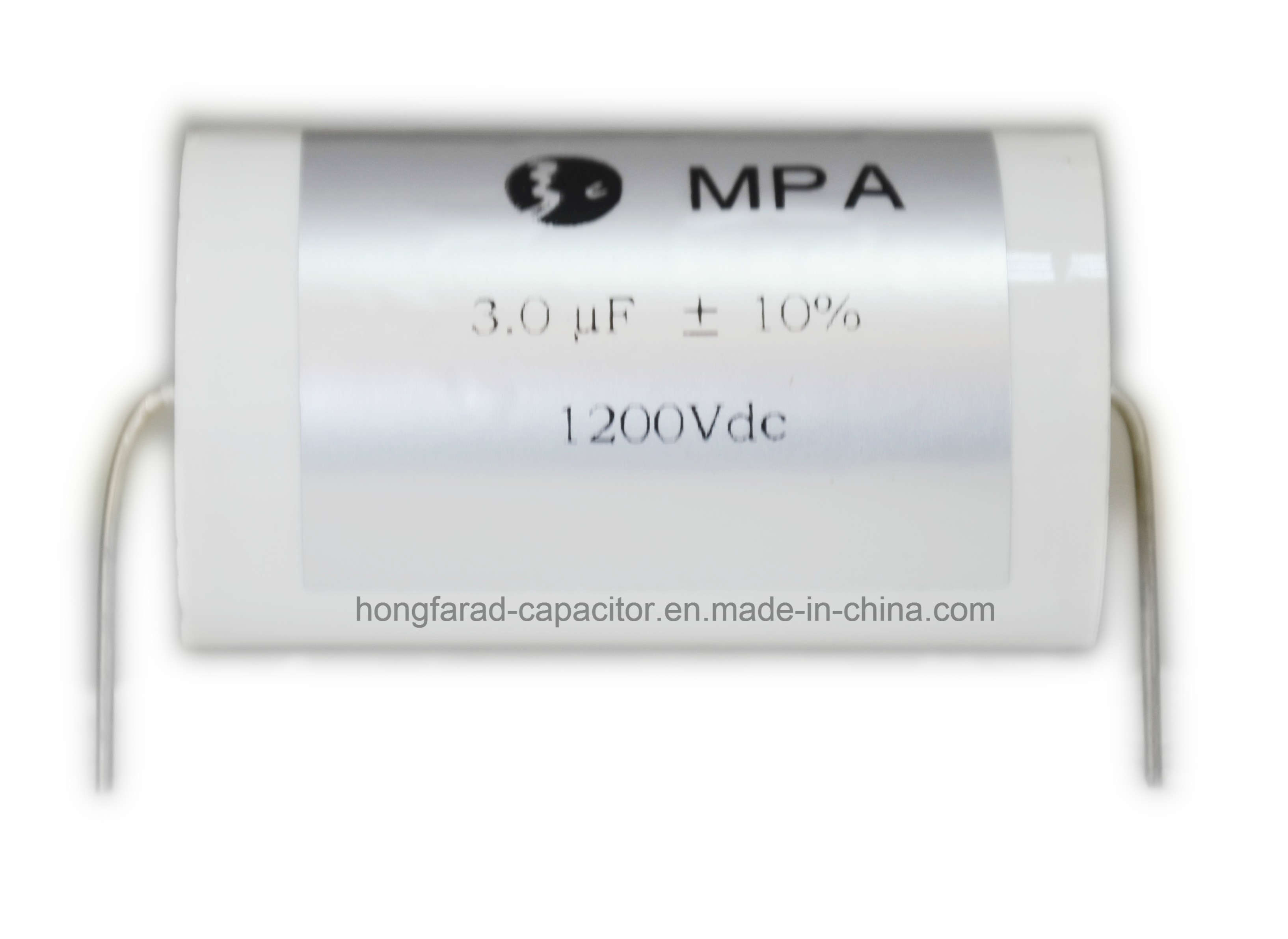 Metallized Polypropylene Film Capacitor for Louder Speaker Cbb20 MPa Axial