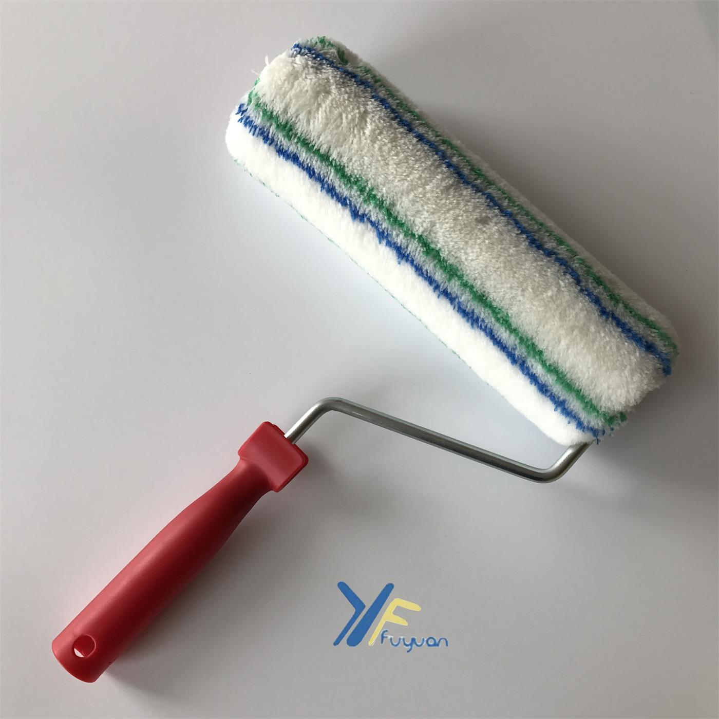 "9"" Stitch Blue-Green Paint Roller Cover"