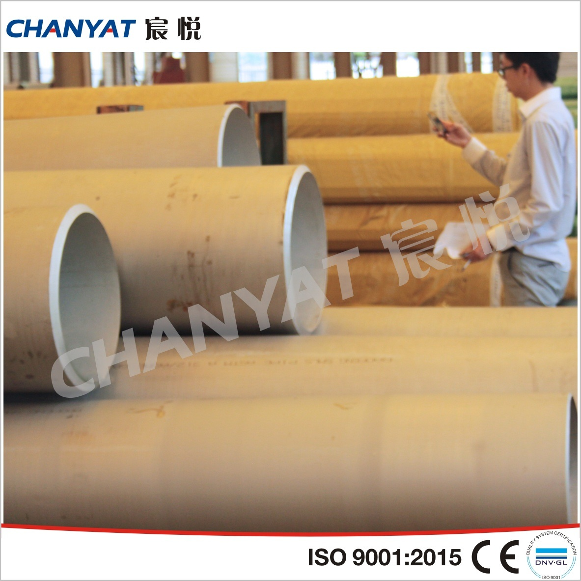 ASTM A312 (304, 316, 321, 347) Stainless Steel Seamless Pipe