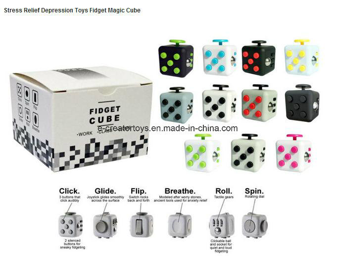 Fidget Cubes Relieves Stress and Anxiety for Children and Adults