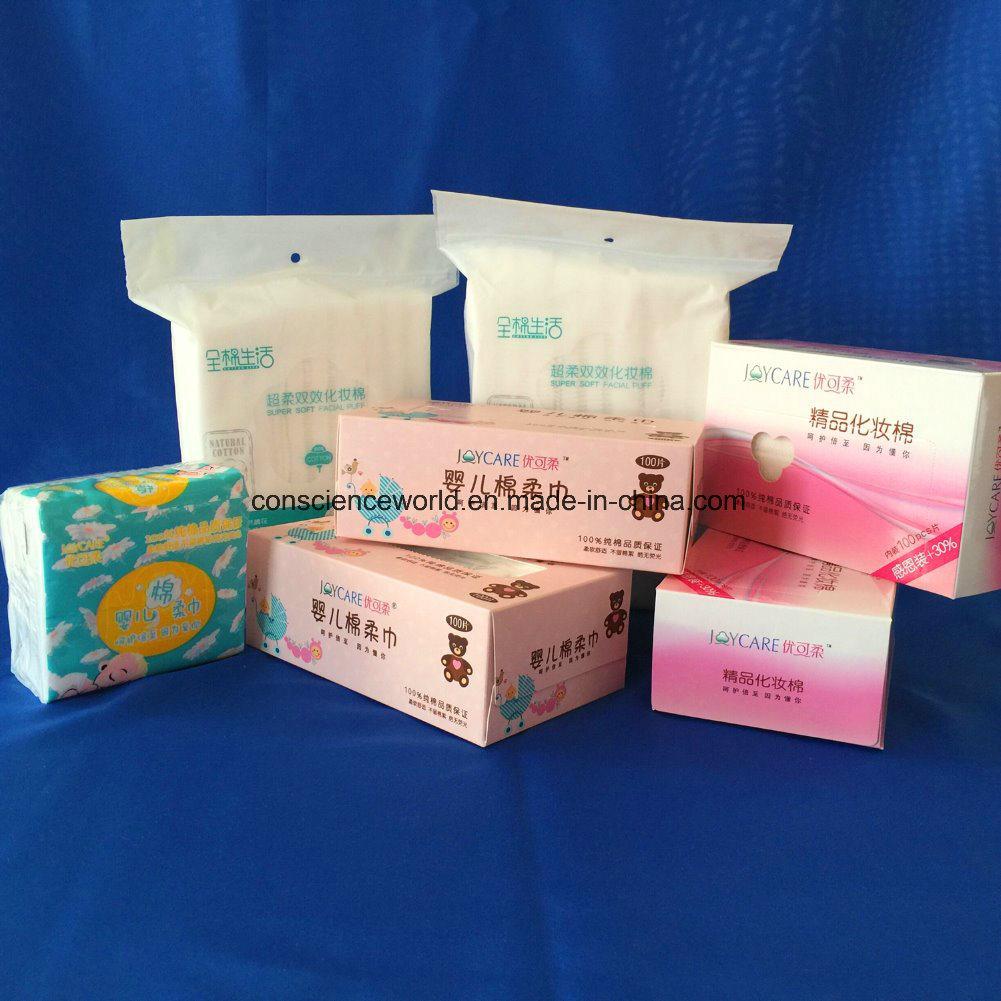 100%Cotton Non-Woven Tissue for Baby Wipe
