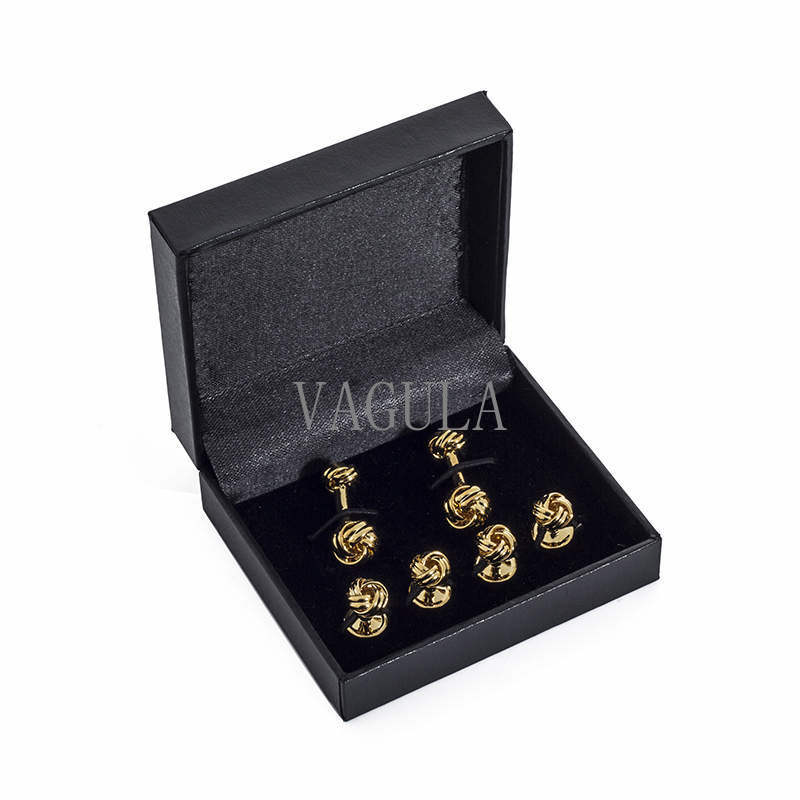 VAGULA Jewelry Display Box Tie Clip Box Cufflinks Case 27