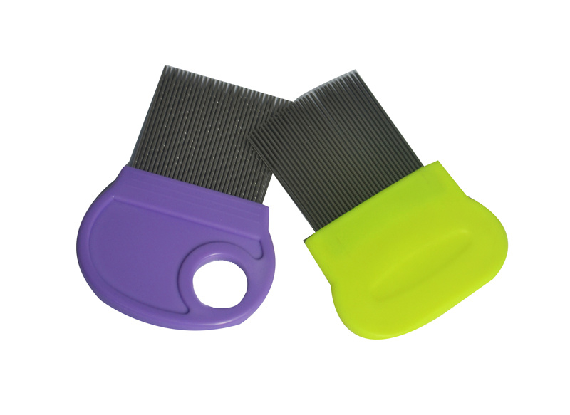 Plastic Head Nit Lice Comb with Magnifier
