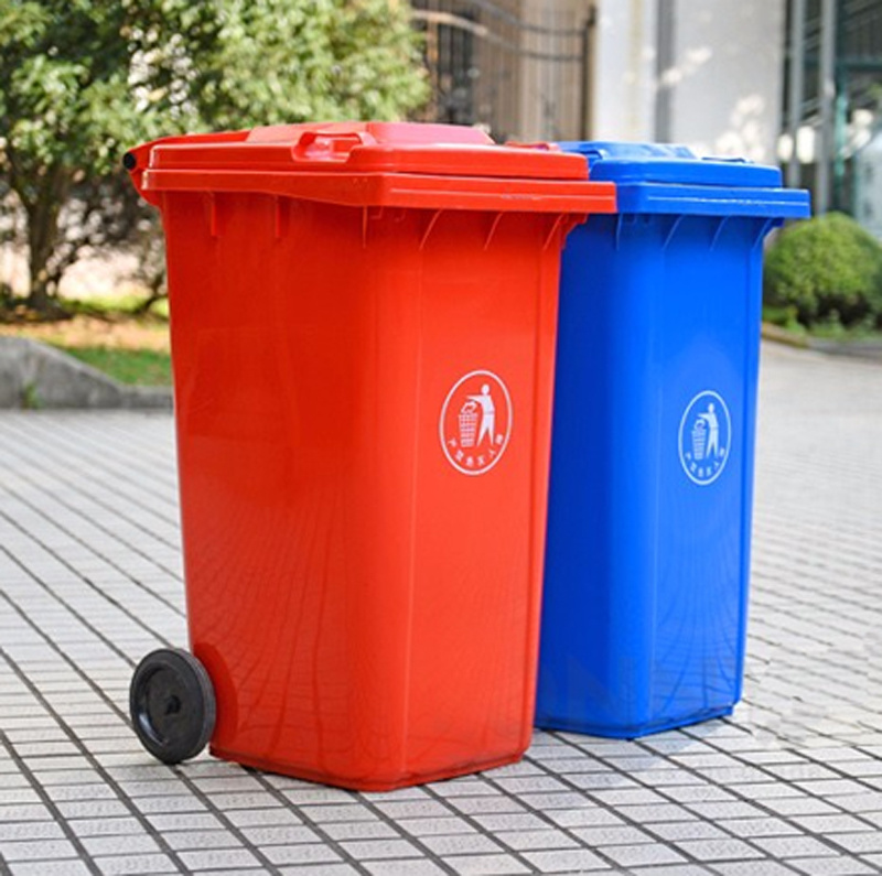 Top Supplier 240 Liter HDPE Durable Plastic Wheelie Bin Trash Can