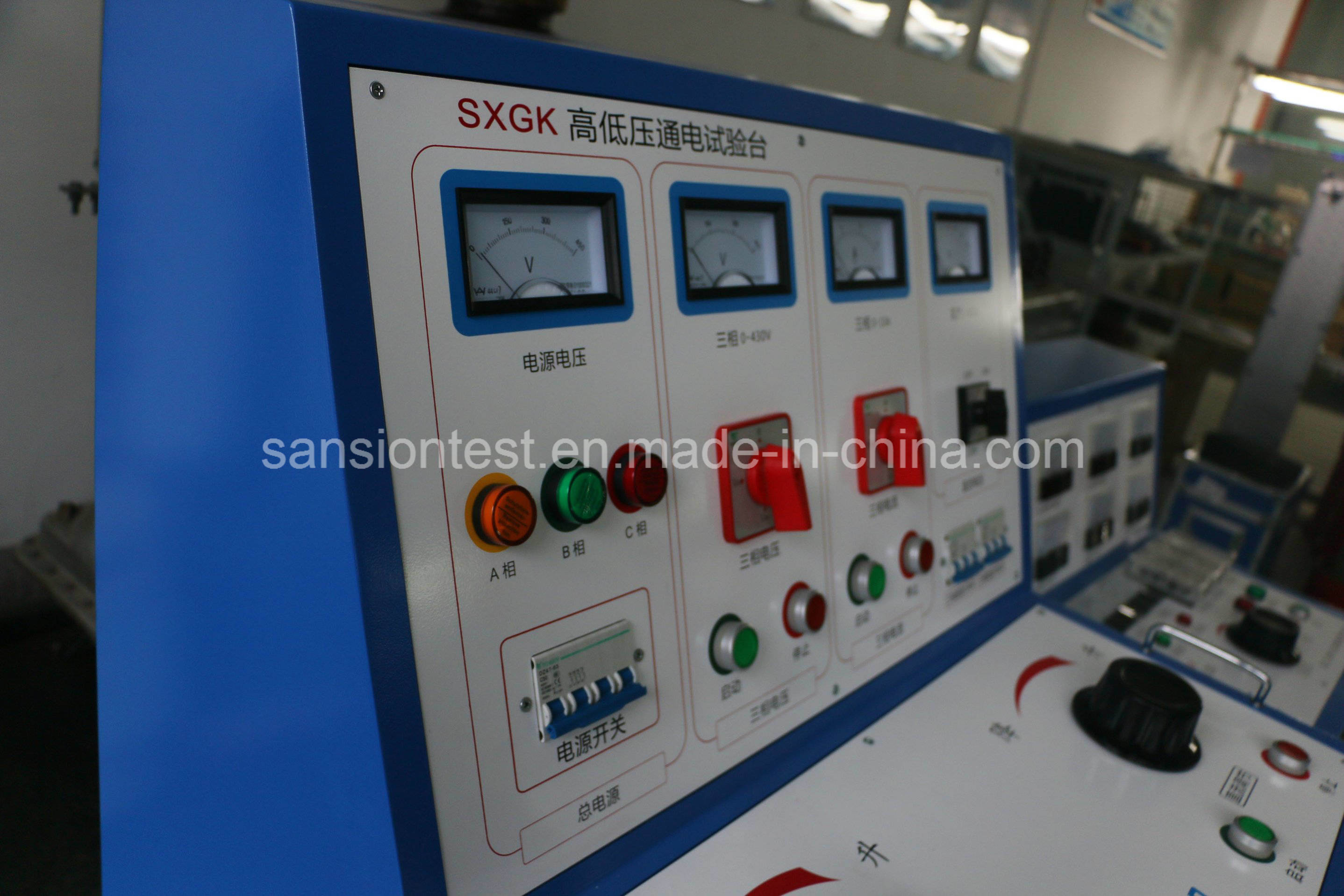 Hv LV Switchgear Panel Test Set