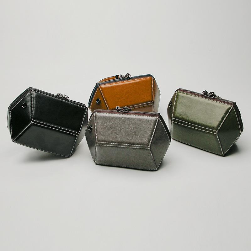 Al90023. Shoulder Bag Handbag Vintage Cow Leather Bag Handbags Ladies Bag Designer Handbags Fashion Bags Women Bag