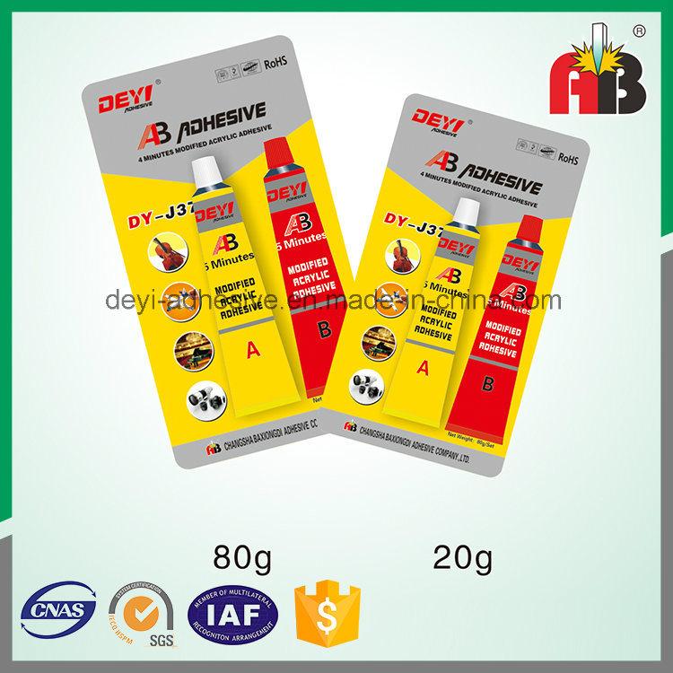 Good Economic Performance Modified-Acrylic Ab Adhesive Bonding Oily Surfaces