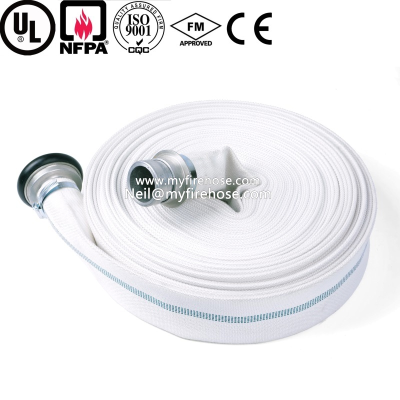2 Inch High Pressure Wearproof PVC Fire Water Hose