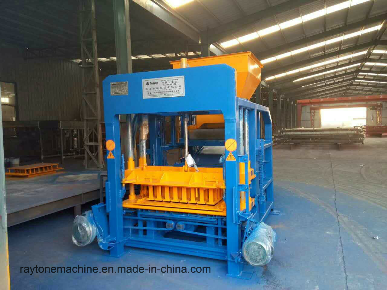 Qt4-18 Hydraulic Automatic Concrete Paving Paver Brick Block Making Machine