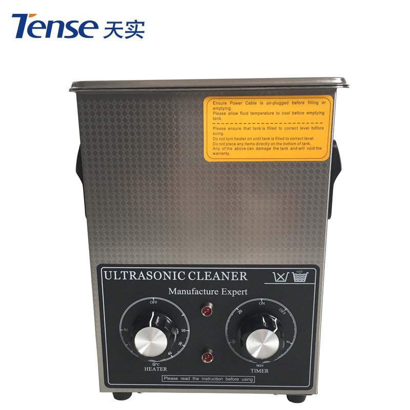 2L Tense High Performance Ultrasonic Cleaner with Basket and Lid (TSX-60T)