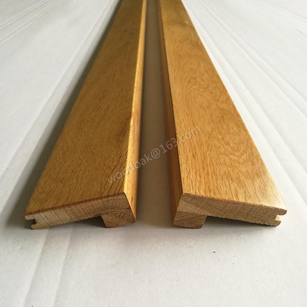 Solid Oak Wood Moulding Wood Threshold (Carpet Reducer) for Flooring