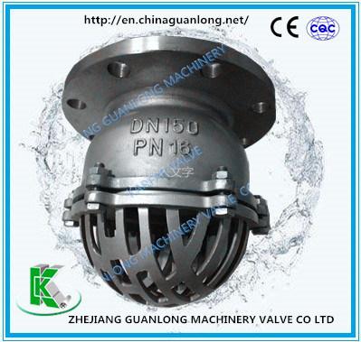 Flange / Thread Stainless Steel Foot Valve (H42)