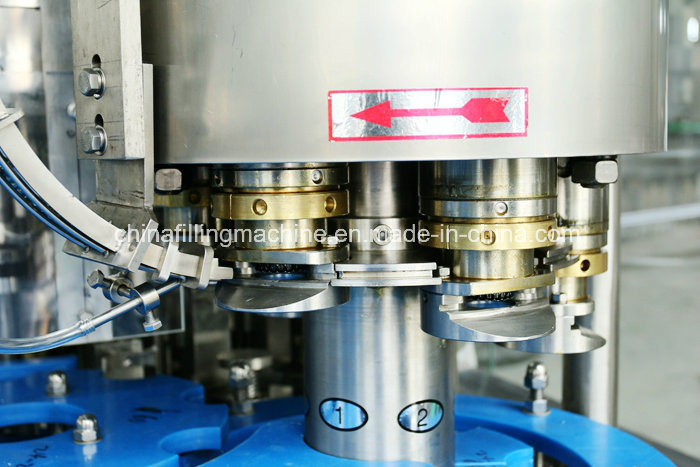 Glass Bottle Washing Filling Capping Machine for Beer