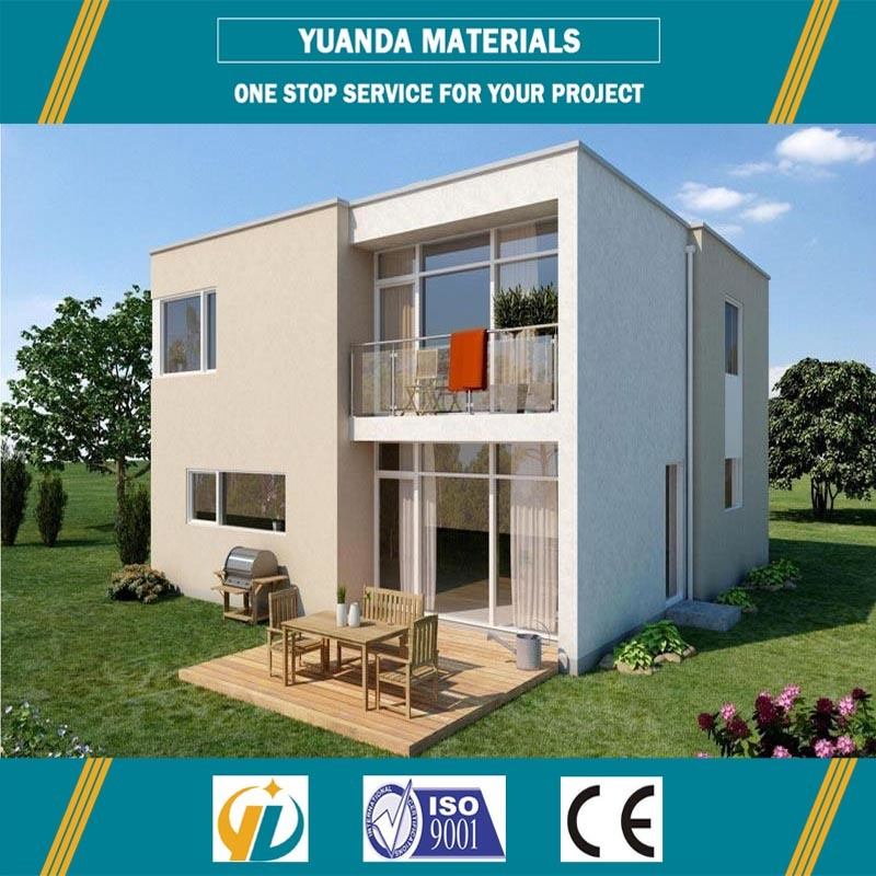 Small House Light Steel Structure Prefab Alc Panel Villas