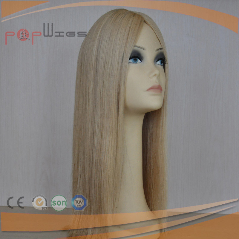 Human Remy Hair Mono Women Topper Toupee