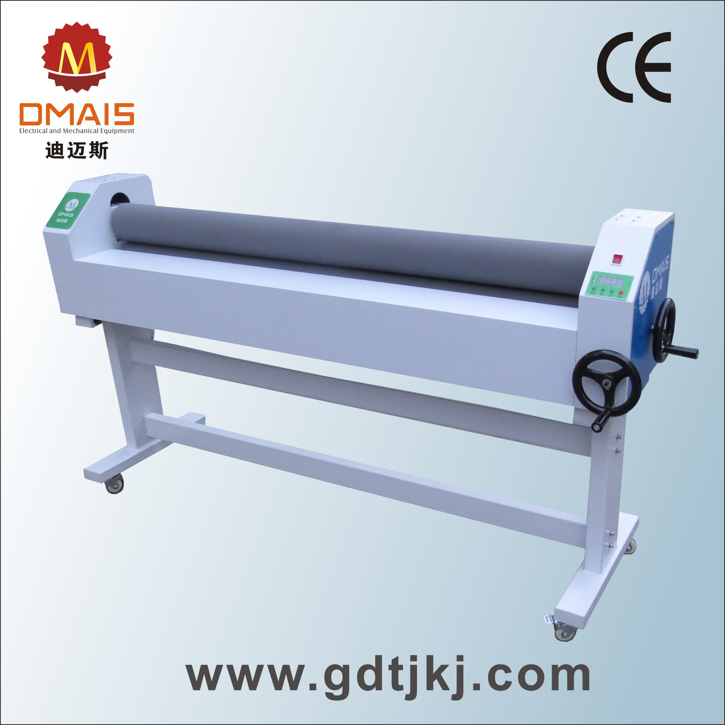 Dmais Manual Hot and Cold Laminator Roll to Roll