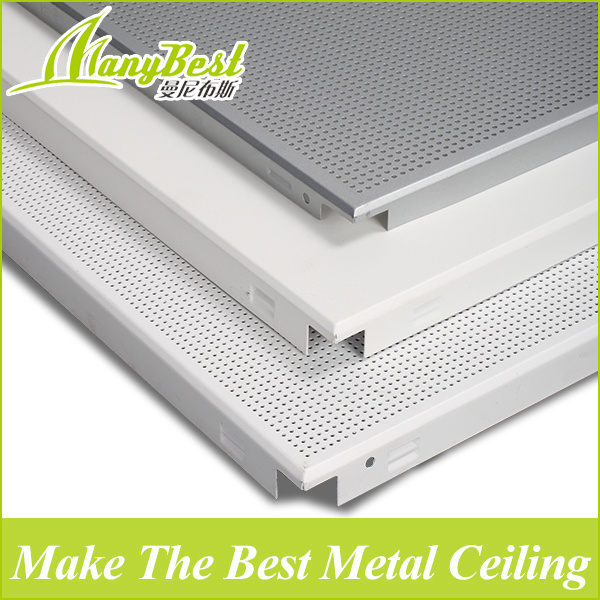 Low Cost Price Pop Aluminum Clip In Ceiling Design For Office Building