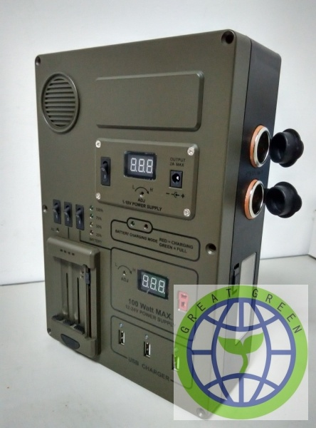 Military Grade Outdoor Power Supply Powerbull