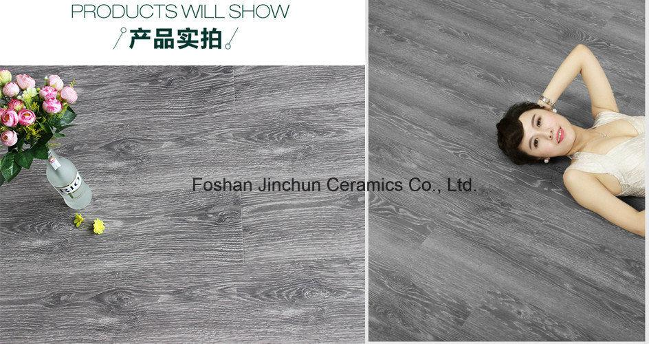 Black Color Laminated Flooring Tile
