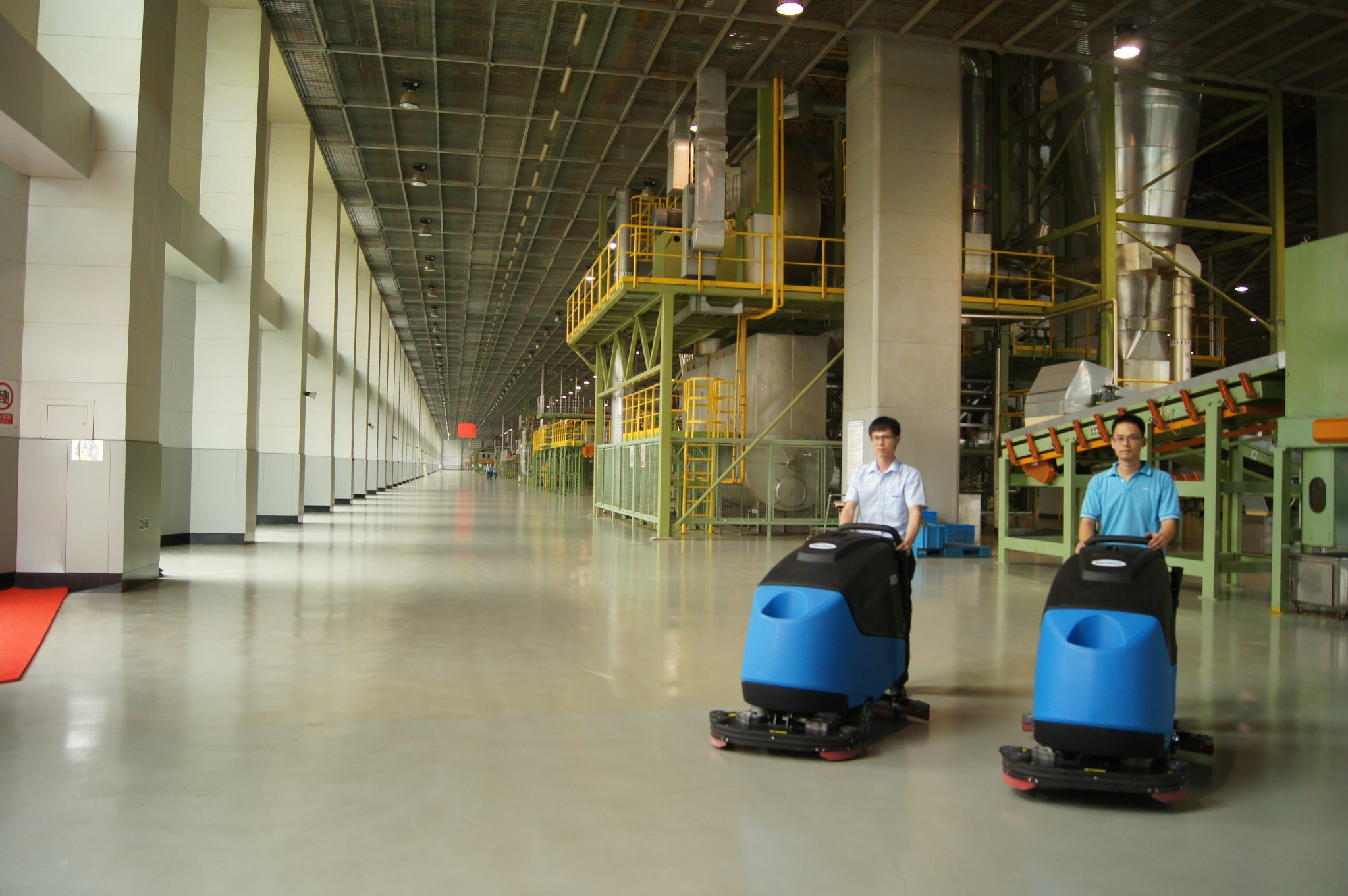 Ce Heavy Industrial and Commercial Scrubber Dryer Robust