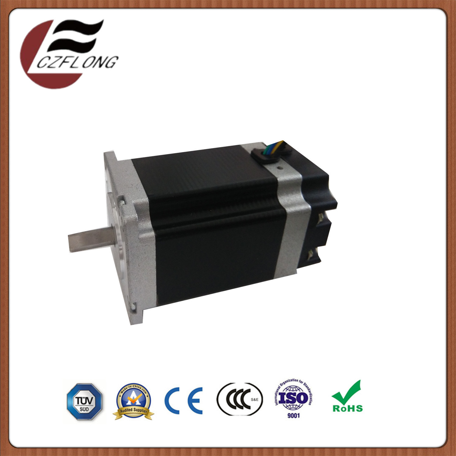 Small Noise 57*57mm NEMA23 Stepping Motor for Robot with RoHS