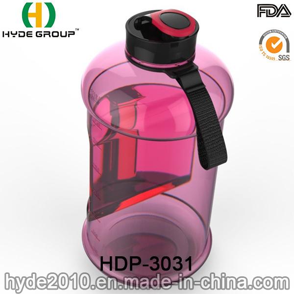 Portable Christmas BPA Free 2.2L Plastic Water Bottle, Customized Big Size PETG 2.2L Water Bottle (HDP-3031)