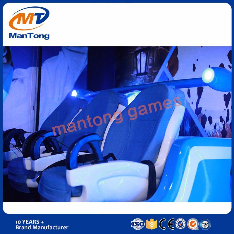 Virtual Reality 6 Seats 9d Vr Simulator, 9d 6seats Vr