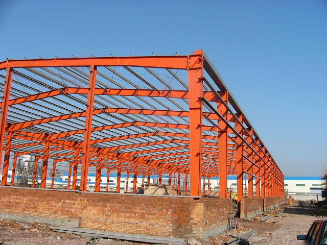 Prefabricated Steel House for Industrial Warehouse Steel Structure