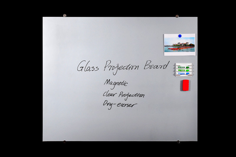 Non-Glare Tempered Glass Magnetic Projection Screen