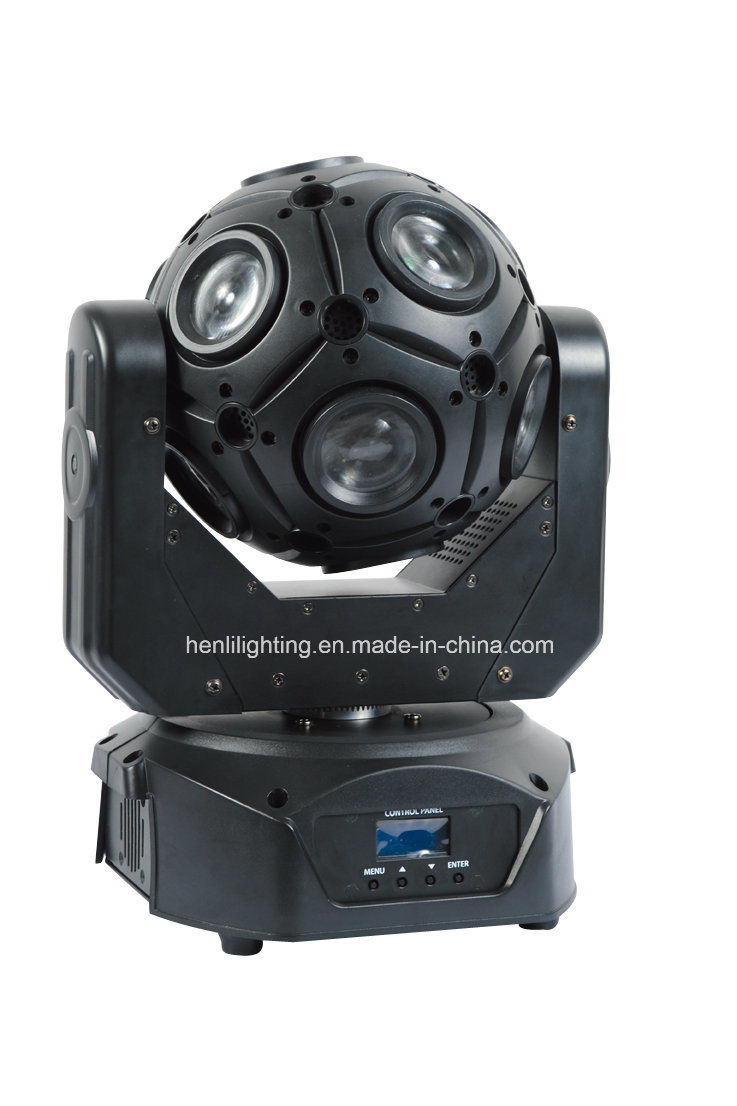 12*10W RGBW 4in1 Mutil LED Football Moving Head with Beam for Stage