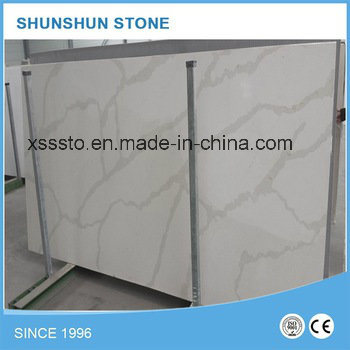 Prefab White Quartz Stone Kitchen Benchtop for Kitchen Trend