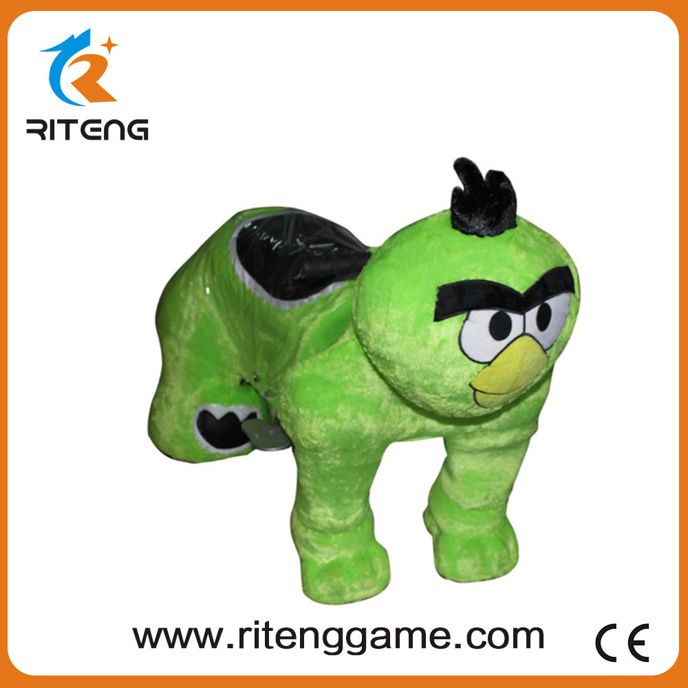 Coin Operated Kid Ride Animal Game Machine for Amusement Park
