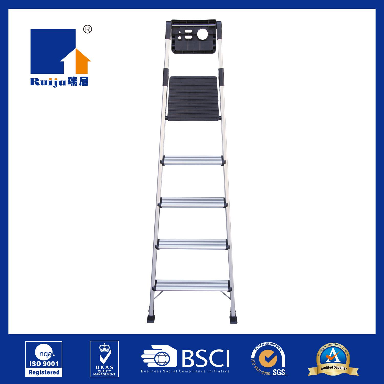 Aluminium Ladder with Handrail Tool Tray