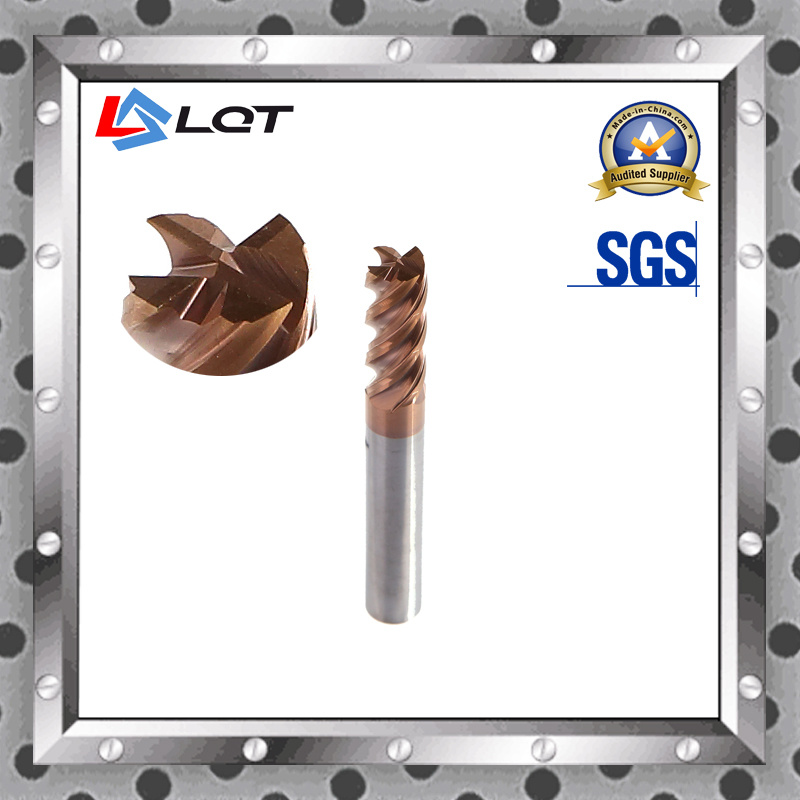 Tungsten Steel Carbide End Mill Machine Tools for HRC 55 Degree