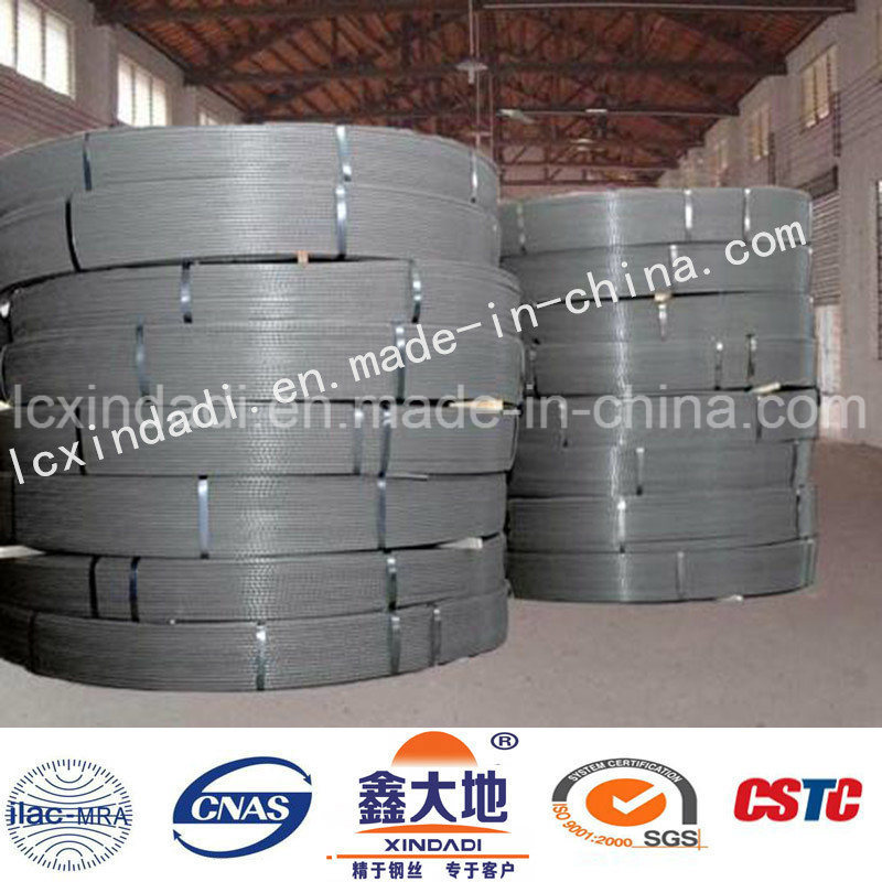 7mm Spiral Ribs Steel Wire