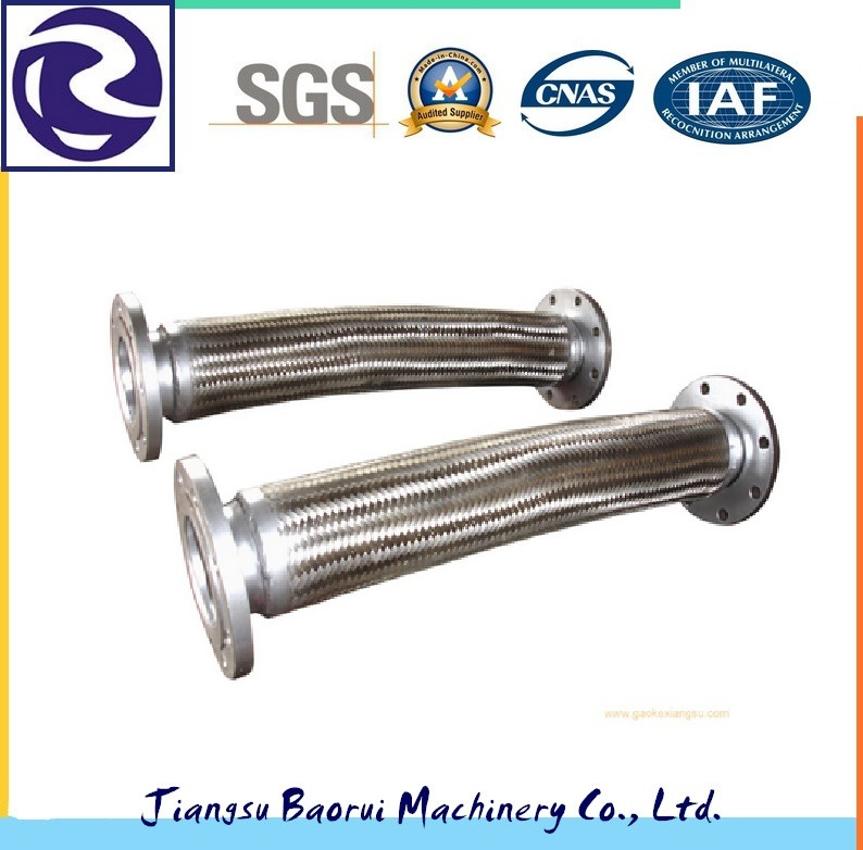 Stainless Steel Corrugated Flexible Metal Hose with Flange