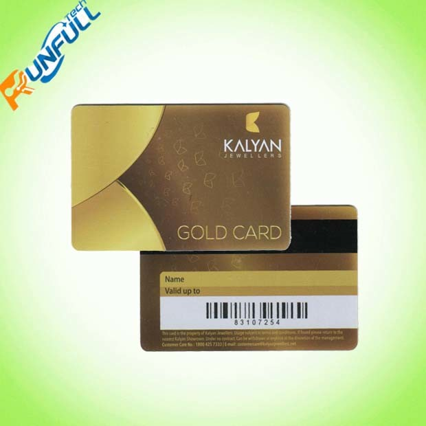 Customize 4 Color Offset Plastic Card Printing/PVC Barcode Card
