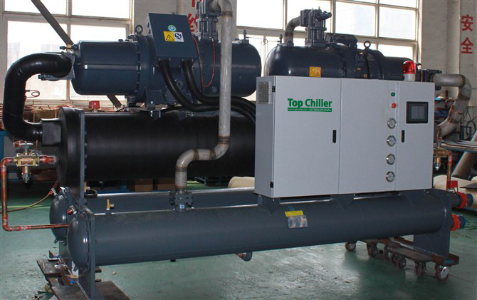50ton/85ton Water Cooled Screw Chiller for Soap Makng Machine