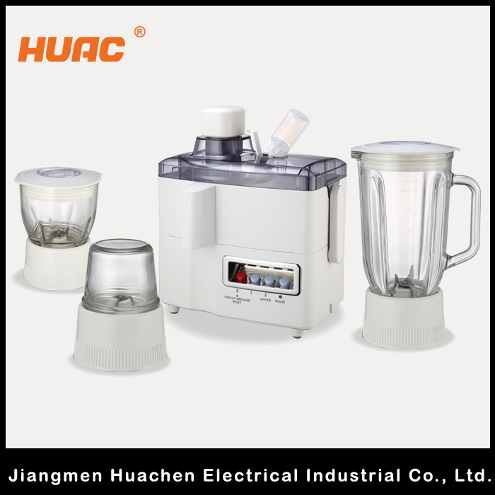 Hc176 Multifunction Juicer Blender 4 in 1 High Quality