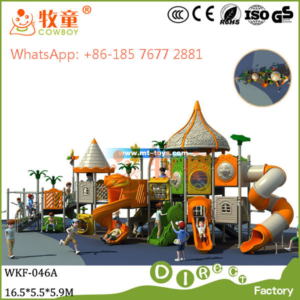 Kids Outdoor Playground Amusement Park (MT/WOP-046B)