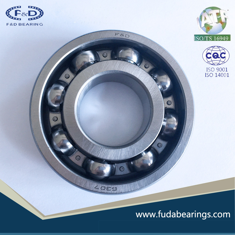 F&D Brand 6307 Open Ball Bearing Deep Groove Ball Bearing