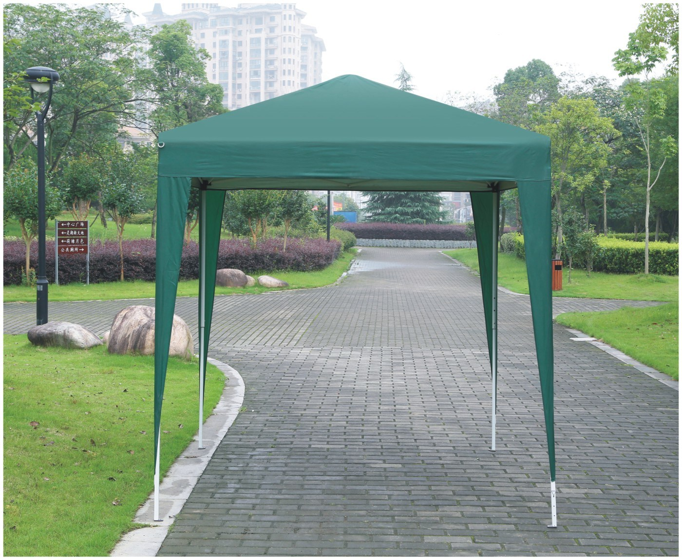 Metal Frame Outdoor Folding Gazebo