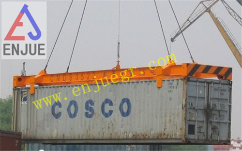Manual Semi-Automatic Container Lifting Frame Without Power